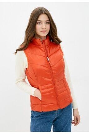 Vero Moda Kadın Kırmızı  Kapüşonsuz Cepli Şişme Yelek 10230864 VMSORAYASIV