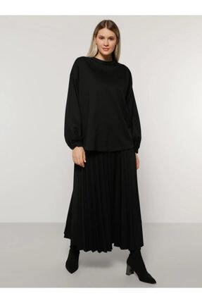 Alia Kadın Siyah Bluz&Etek İkili Takım 1164649