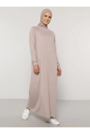 Everyday Basic Kadın Pembe Düz Renk Spor Elbise 1675235