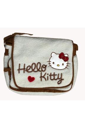 Hakan Çanta Beyaz Hello Kitty Postacı Çantası