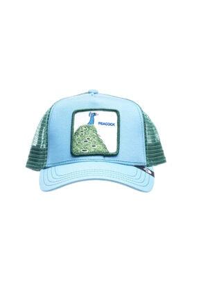 Goorin Bros Unisex Yeşil Desenli Şapka