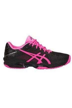 Asics Kadın Siyah Tenis Ayakkabısı