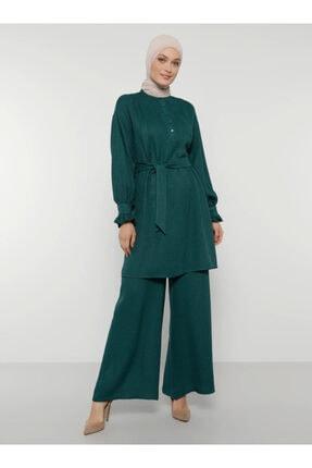 Refka Kadın Yeşil Tunik