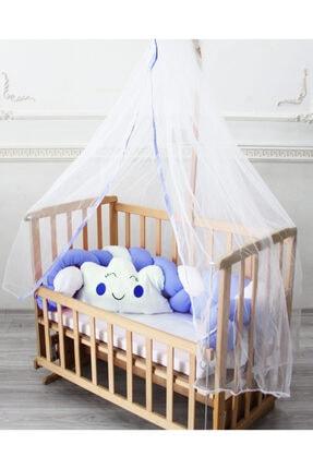 Eko Örgü Mavi Bebek Beşiği Uyku Seti BBYEKOUSOM