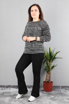 Günay Kadın Gri Kazak Drns0091