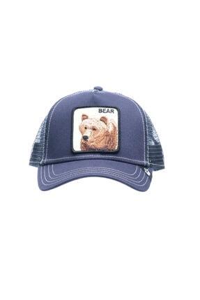 Goorin Bros Unisex Mavi Baskılı Şapka