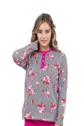 Çift Kaplan Çokçokürün 7701 Bayan Pijama Takımı Xl