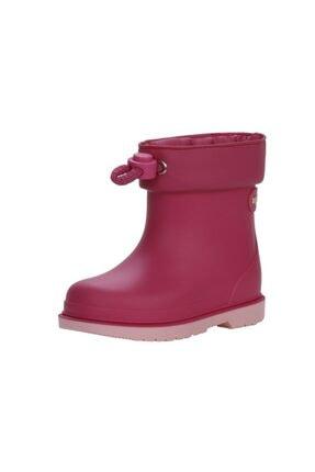 IGOR Unisex Çocuk Fuşya Yağmur Çizmesi Igr007