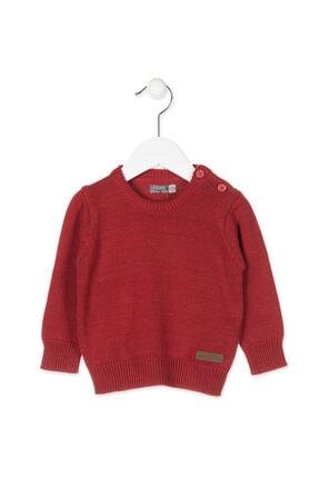 Losan Unisex Kırmızı Bebek Triko