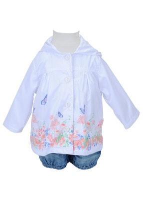Zeyland Kız Bebek Beyaz Yağmurluk 71M2LKF22