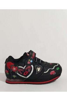 Lescon Kız Çocuk Siyah Ayakkabı