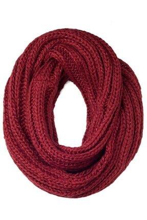 Faberlic Kadın Kırmızı Renkli Boru Atkı