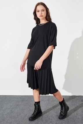 Arma Life Kadın Siyah Salaş T-shirt