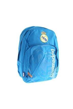 Yaygan Unisex Genç Mavi Real Madrid Okul Çantası 93060