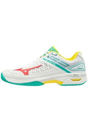 Mizuno Unisex Beyaz Tenis Ayakkabısı