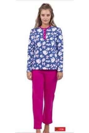 Çift Kaplan Çokçokürün 7728 Bayan Pijama Takımı