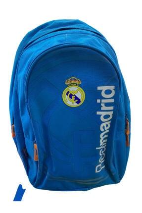 Yaygan Unisex Mavi Real Madrid Okul Çantası
