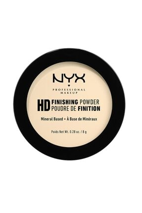 NYX Professional Makeup Sabitleyici Sarı Pudra - High Definition Finishing Powder Banana 17 g N800897834678