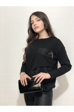 Ayhan Kadın Siyah Bluz