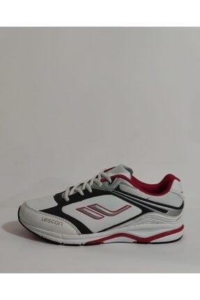 Lescon Unisex Beyaz Spor Ayakkabı