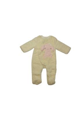 Bibaby Kız Çocuk Ekru Pembe Uyku Tulumu
