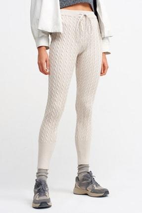 Dilvin Kadın Bej Pantolon