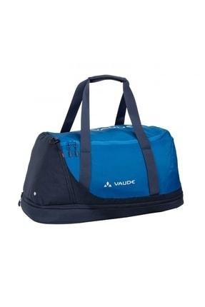 VAUDE Unisex Mavi Fermuarlı Spor Çantası