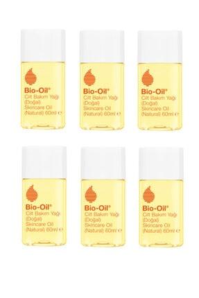 Bio Oil 14 Bitki Özü Içeren Vegan Cilt Bakım Yağı 60 ml X6 Adet