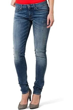 Levi's Kadın Mavi Demi Curve Jean