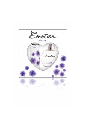Emotion Violet Edt 50 ml Kadın Parfüm  + 150 ml Deodorant Set 49854125NEU1495