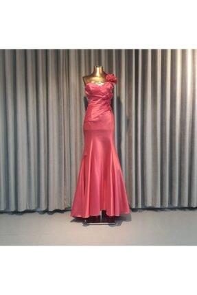 Wella Kadın Pembe Balık Abiye Elbise