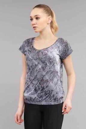 Bilcee Likralı Pamuklu Kadın T-Shirt ES-3571