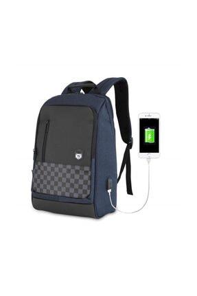 My Valice Smart Bag Usb Şarj Girişli Akıllı Sırt Çantası 1204 Lacivert