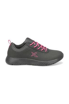 Kinetix Koyu Gri Pembe Kadın Yürüyüş Ayakkabısı 000000000100337103