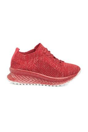 Tergan Kırmızı Tekstil Kadın Ayakkabı 64523I48