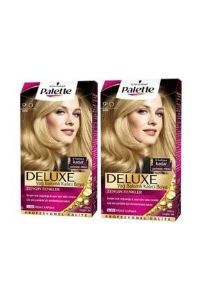 Palette Deluxe Saç Boyası 9/0 Sarı X 2 Adet