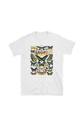 Köstebek Unisex  Papillions T-shirt