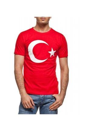 Köstebek Türk Bayrağı Unisex T-shirt