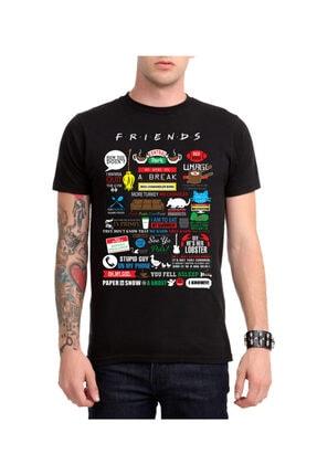 Köstebek Friends - Central Perk New Kolaj Unisex T-shirt