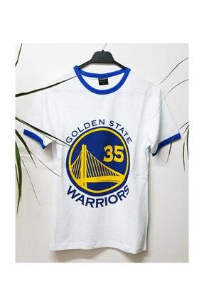 Köstebek Nba Golden State Warriors - Kevin Durant 35 Unisex T-shirt