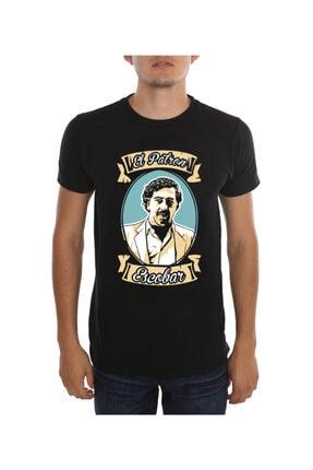 Köstebek Siyah Pablo Escobar -El Patron Unisex T-Shirt