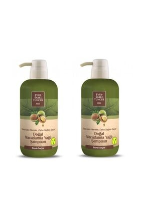 Eyüp Sabri Tuncer Macadamıa Yağlı Şampuan 600 ml 2 Li Set
