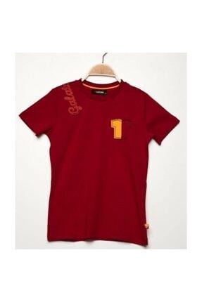 Galatasaray Nakışlı Çocuk T-shirt Kırmızı