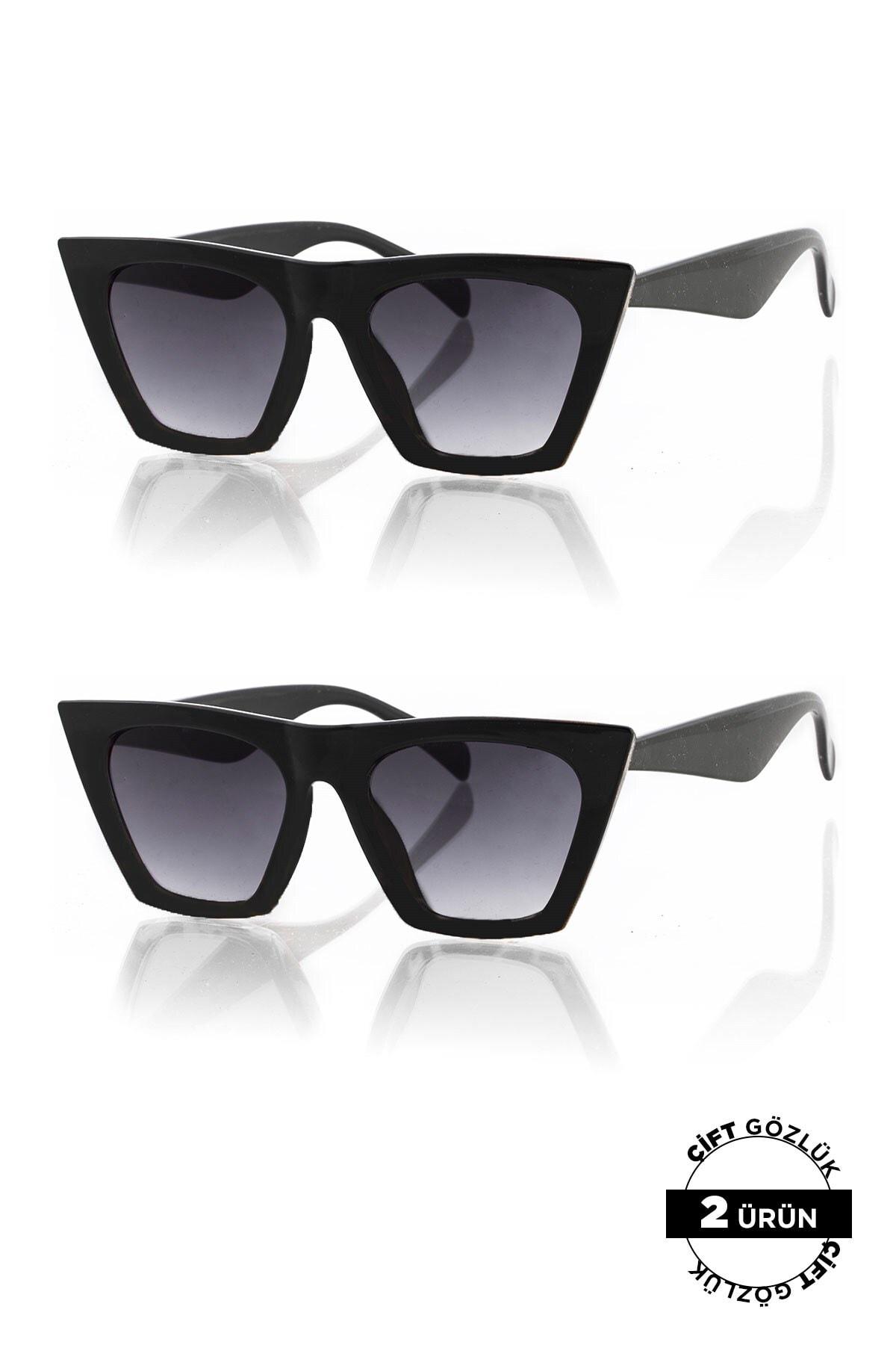 Polo55 PL8045R01R01 Unisex Güneş Gözlüğü 2'li Ürün