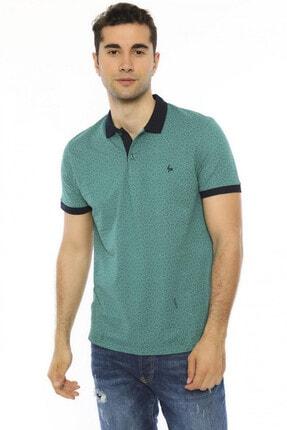 Büyük Beden  Polo Yaka Erkek Tişört  -  19ly553-46 19LY553-46