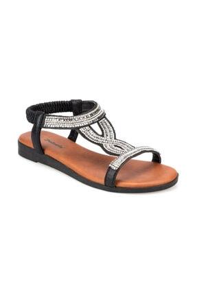 Polaris 91.311517.Z Siyah Kadın Sandalet