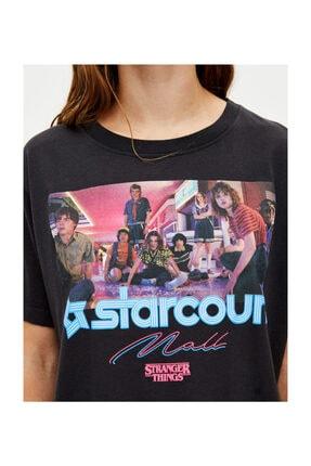 Köstebek Stranger Things Starcourt Mall Unisex T-Shirt