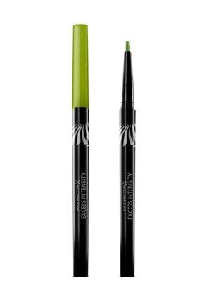 Max Factor Suya Dayanıklı Yeşil Eyeliner - Excess Intensity Long Wear 03 Excessive Green 4015600805388