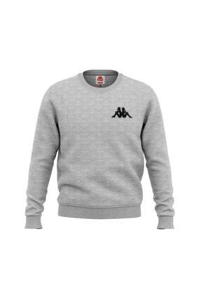 Kappa Kadın Sweatshirt Bassy Gri