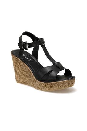 Missf Ds20014 Siyah Kadın Sandalet